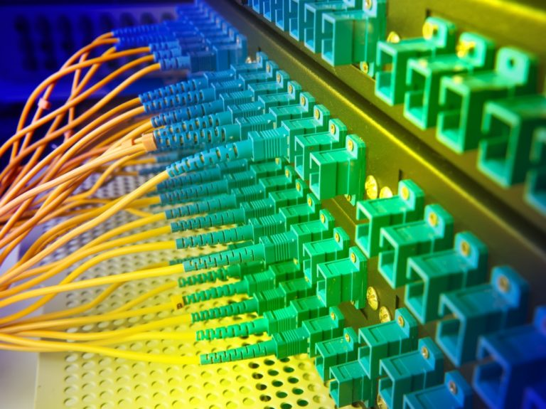 fiber-optic broadband