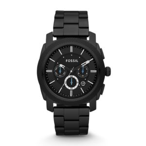 Fossil Men's Machine Chronograph Black Stainless-Steel Watch